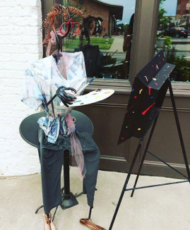 artist, sculpture, discovery