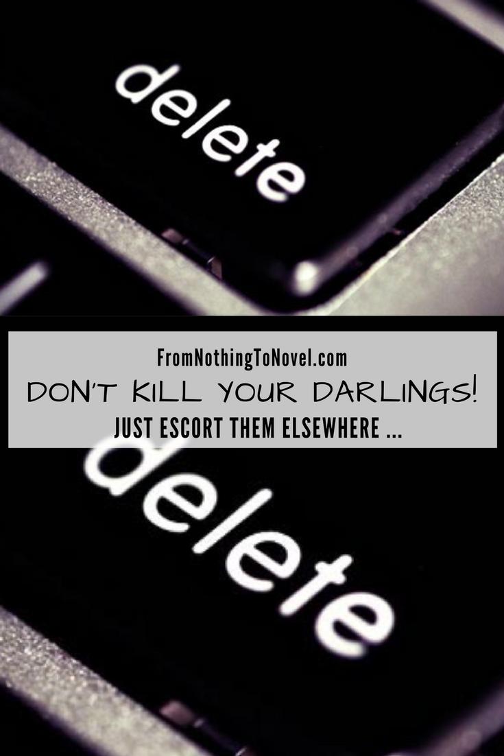 editing, writing, deleting, repurposing