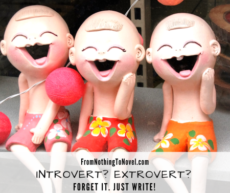 writer, personality type, introvert, extrovert, ambivert