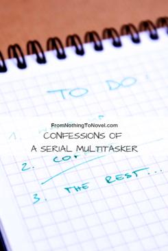 writing, fiction, novel, multitasking